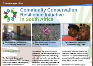 community conservation flyers screenshot