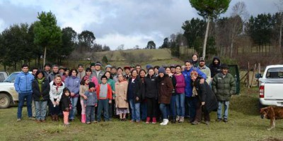 real forests are the ones with the communities, plantations are not forests - chile