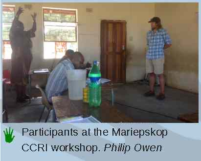 community conservation south africa