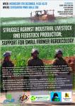 Lucha contra la ganadería industrial y la producción de piensos; Apoyo a la agroecología del pequeño  agricultor