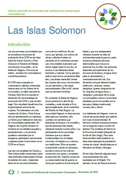 Islas Solomon cover
