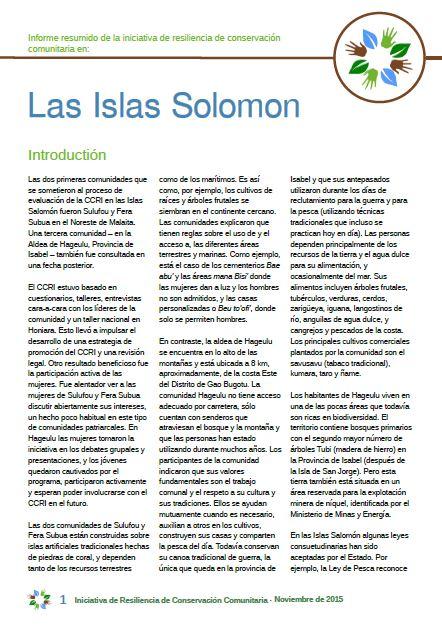 Islas Solomon cover