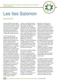 ccri les iles salomon