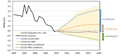 land use and bioenergy