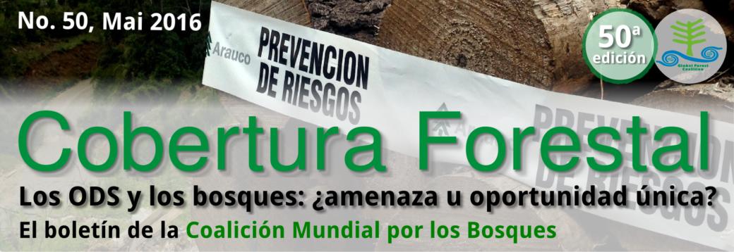 Cobertura Forestal 50 – Los ODS y los bosques: ¿amenaza u oportunidad única?
