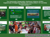 Sharing Initial Findings of the CCRI at the IUCN World Conservation Congress