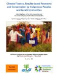 climate finance indigenous