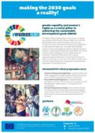 #women2030 Flier: Gender Equality and Women's Rights as A Crucial Pillar to Achieving the Sustainable Development Goals (SDGs)