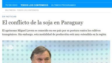 El conflicto de la soja en Paraguay