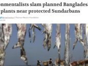 Environmentalists slam planned Bangladesh power plants near protected Sundarbans