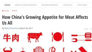 How China's Growing Appetite for Meat Affects Us All