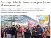 'Marriage of death': Protesters oppose Bayer-Monsanto merger