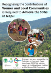 Recognising the Contributions of Women & Local Communities is Required to Achieve the SDGs in Nepal