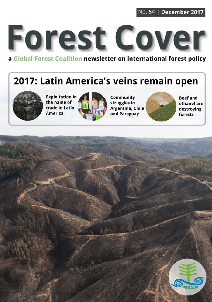 forest cover latin america
