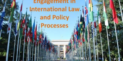 Presentation: Developing Strategies for Engagement in International Law and Policy Processes