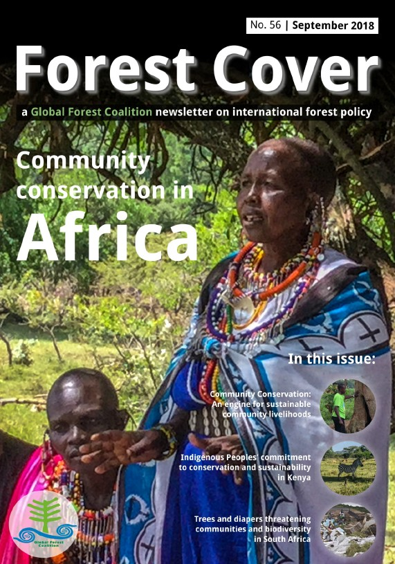forest cover 56 community conservation in africa