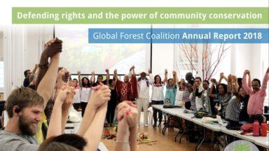 Informe anual de la Coalición Mundial por los Bosques del 2018: Defendiendo los derechos y el poder de la conservación comunitaria
