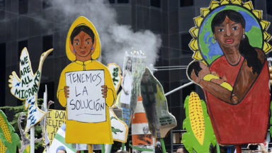 Derail negotiations on market mechanisms: false solutions will not bring equity and climate justice