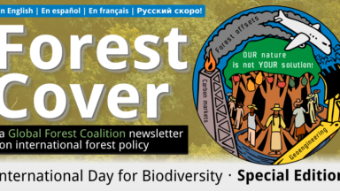 Forest Cover 61: #OurNatureIsNotYourSolution, International Day for Biological Diversity