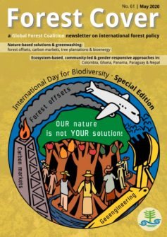 Cover of Forest Cover 61: #OurNatureIsNotYourSolution, International Day for Biological Diversity