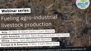 Webinar series: Fueling agro-industrial livestock production