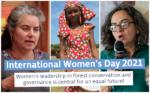 El liderazgo de las mujeres en la conservación y gobernanza forestal es clave para un futuro igualitario: Voces de GFC
