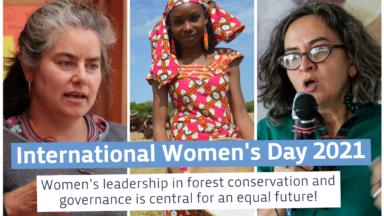 Le leadership des femmes dans la conservation et la gouvernance des forêts est essentiel pour un avenir égalitaire : Voix du du GFC
