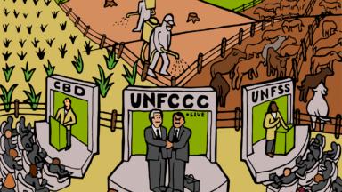 La contagion des entreprises : comment le secteur privé s'approprie les sommets des Nations Unies sur l'alimentation, la biodiversité et le climat