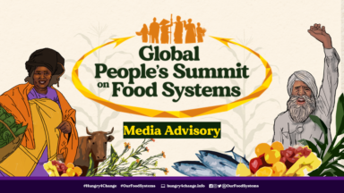 Movements, civil society counter anti-people UN Food Systems Summit